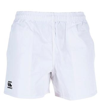 Canterbury Mens Professional Cotton CCC Embroidered Logo Shorts