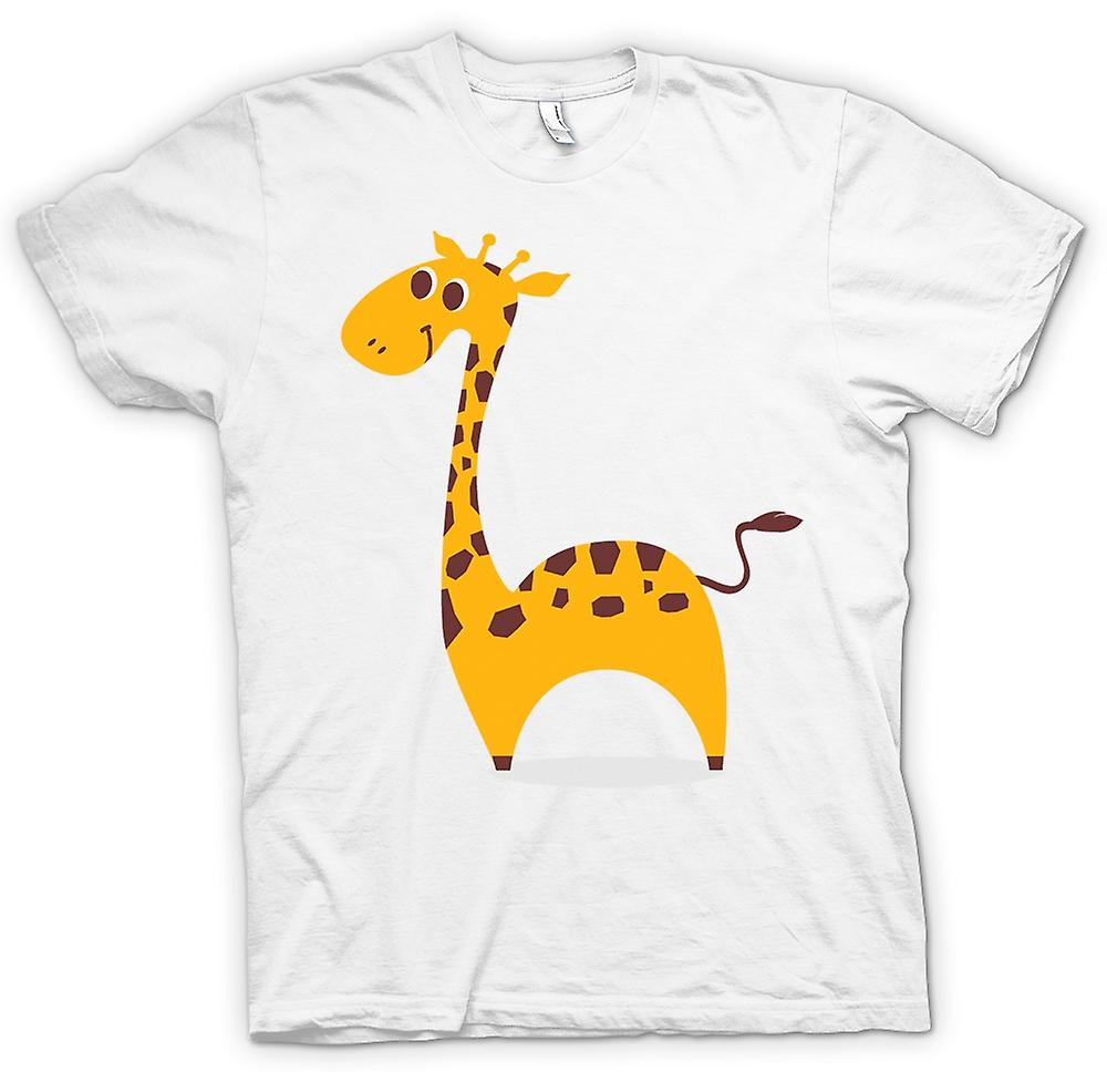 Mens t-shirt - amo giraffe - animale sveglio