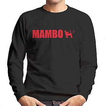 Mambo Farting Dog Logo Men's Sweatshirt