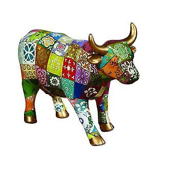 Cow Parade princesa Leticia (medio de cerámica)