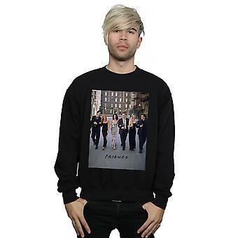 Friends Men's Champagne And Flowers Sweatshirt