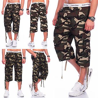 Men's U.S. Army camouflage Cargo shorts shorts Tarn robust Bermuda military