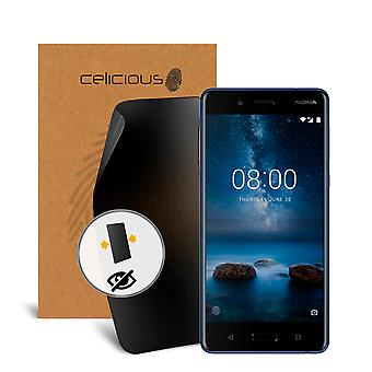 Celicious Privacy 2-Way Anti-Spy Filter Screen Protector Film Compatible with Nokia 8