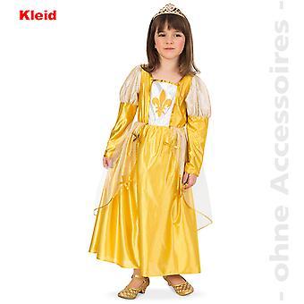 Burgfraulein костюм ребенка Королева известных дворянки горничная костюм ребенка