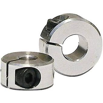 Shaft collar Compatible with (shafts): 6 mm Outside diameter: 14 mm Thickness: 6 mm M2.5 Modelcraft 1 pair