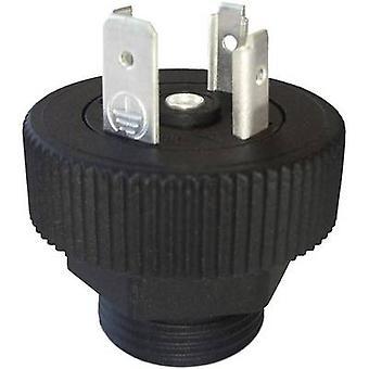 Hirschmann 931 297-003 GSP 313 Connector Plug Black Number of pins:3 + PE