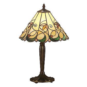 Interiors 1900 Jamelia Single Light Medium Table Lamp