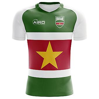 2018-2019 Suriname Home Concept Football Shirt - Kids