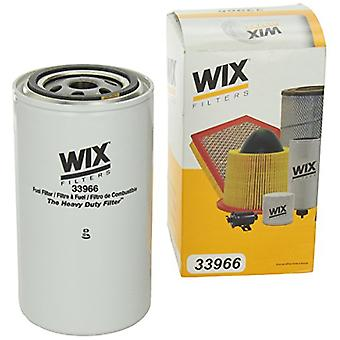 WIX Filters - 33966 Heavy Duty Spin-On Fuel Filter, Pack of 1