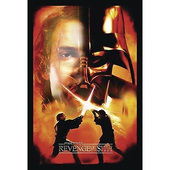Star Wars Episode III poster revenge of the Sith Anakin Skywalker / Darth Vader (face)