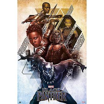 Marvel poster Black Panther