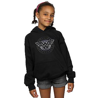 DC Comics Girls Wonder Woman Star Shield Hoodie