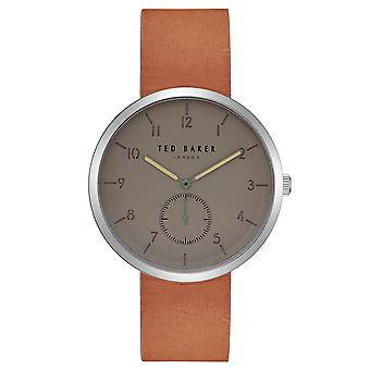 Ted Baker mens watch gunmetal