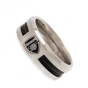 Arsenal embutido negro anillo grande CR