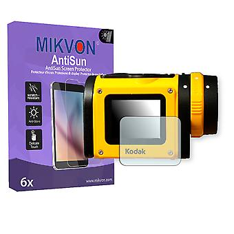 Kodak Pixpro SP1 Screen Protector - Mikvon AntiSun (Retail Package with accessories)
