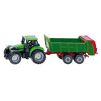 1673 SIKU traktor + sprederen