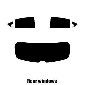 Pre cut window tint - SEAT Leon 5-door Hatchback - 2005 to 2012 - Rear windows