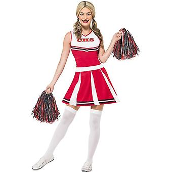 Smiffy van Cheerleader kostuum