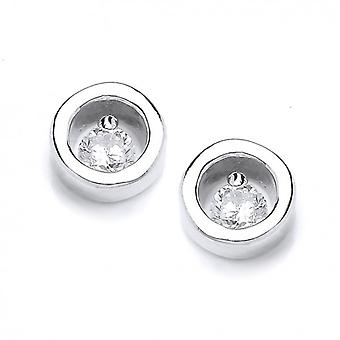 Cavendish French Modest Little Silver Studs