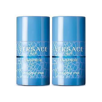 2er-Pack Versace Man Eau Fraiche Edt 75 ml