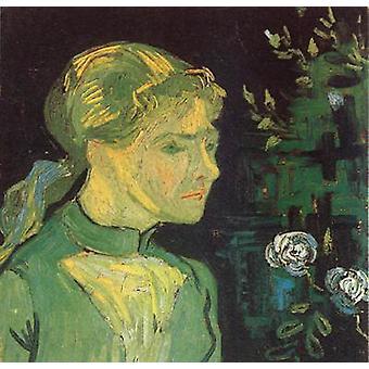 Portrait of Adeline Ravoux, Vincent Van Gogh, 52x52cm