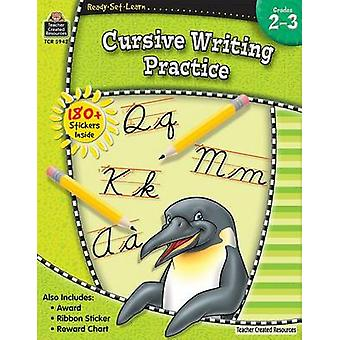 Cursive Writing Practice by Ina Massler Levin - 9781420659429 Book