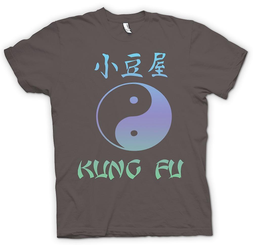 Womens T-shirt - Kung Fu - Ying Yang