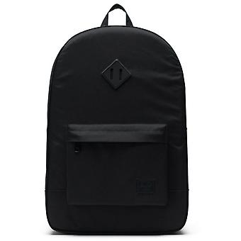 Herschel Black Heritage Light - 21.5 Litre Laptop Backpack