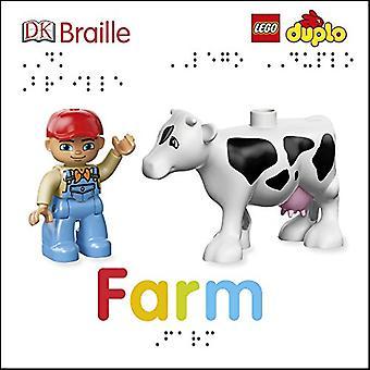 DK Braille LEGO DUPLO Farm (DK Braille) [Board book]