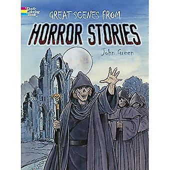 Tolle Szenen aus Horrorgeschichten (Dover Malbücher)