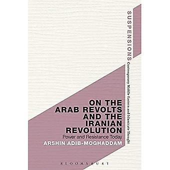 Auf die arabischen Aufstände und der iranischen Revolution (Suspensionen: modern orientalisch und Islamicate Gedanken)