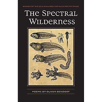Le désert Spectral: Poèmes (poésie mèche premier livre)