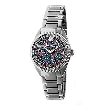 Empress Helena Bracelet Watch w/Date - Silver