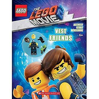 The LEGO Movie 2: Vest Friends Activity Book with Minifigure (Lego Movie)