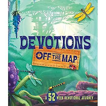 Devotions Off the Map: A 52-Week Devotional Journey (Seasons)
