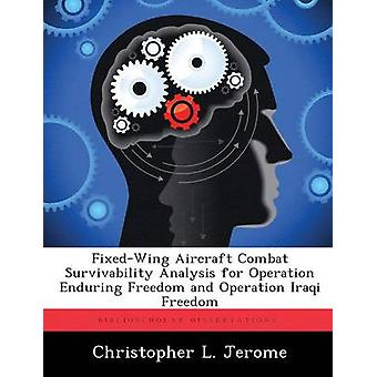 FixedWing Aircraft Combat Survivability Analysis for Operation Enduring Freedom and Operation Iraqi Freedom by Jerome & Christopher L.