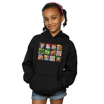 Disney Girls Toy Story Character Squares Hoodie