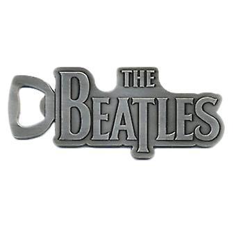 The Beatles Drop T Logo Metal Bottle Opener
