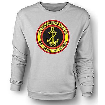 Infantería Naval rusa sudadera para hombre