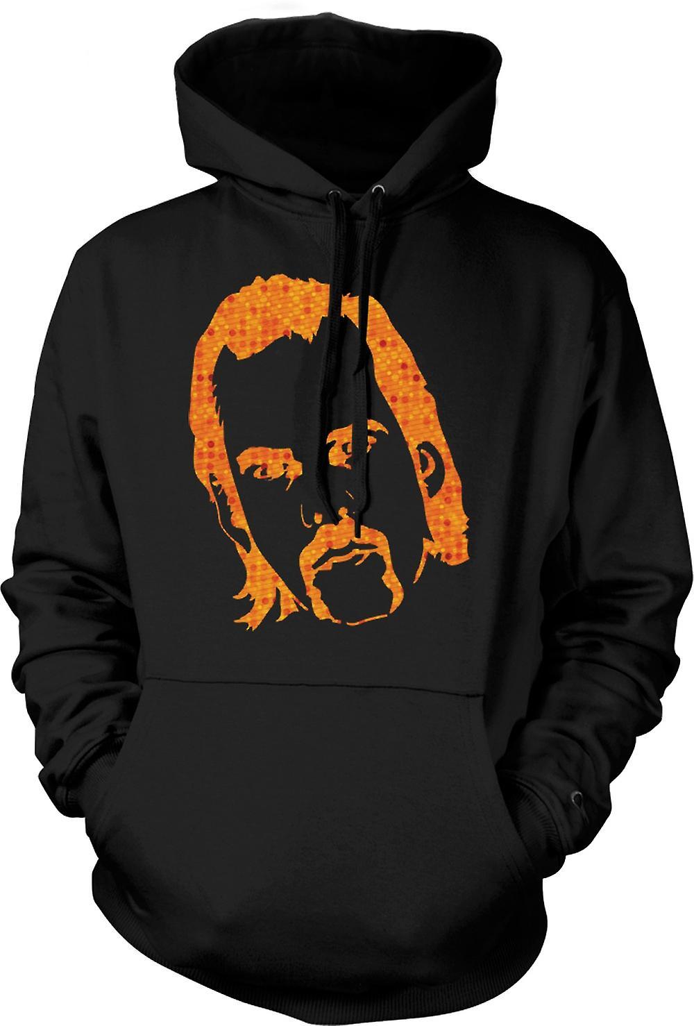 Mens Hoodie - Portrait de Nick Cave