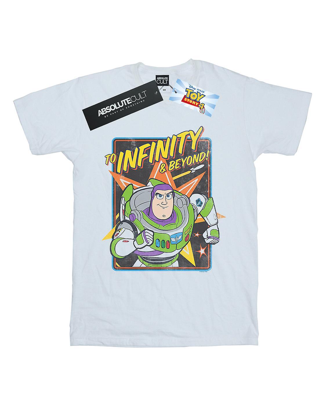 Disney Women's Toy Story 4 Buzz To Infinity Boyfriend Fit T-Shirt