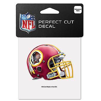 Wincraft helm sticker 10x10cm-NFL Washington Redskins