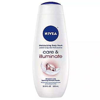 Nivea sparkle cream oil body wash, 16.9 oz