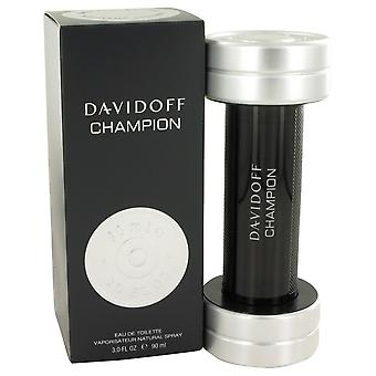 Davidoff Champion by Davidoff Eau De Toilette Spray 3 oz / 90 ml (Men)