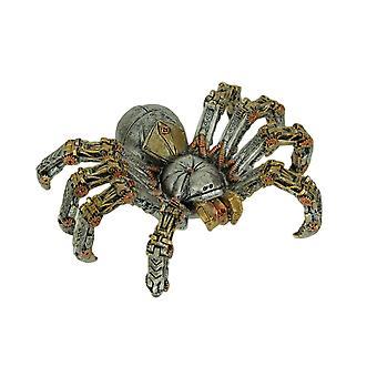 Mekaniske steampunk edderkopp cyborg tarantula statue