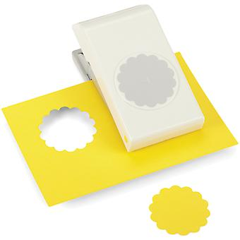 Nesting Paper Punch Scallop Circle 1.75