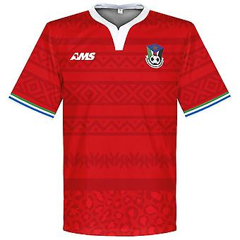 2016-2017 South Sudan Away Football Shirt