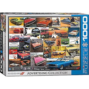 Dodge Vintage Advertising 1000 piece jigsaw puzzle 680mm x490mm  (pz)