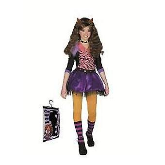 Josman Clawdeen Wolf Costume Size 4 (Costumes)