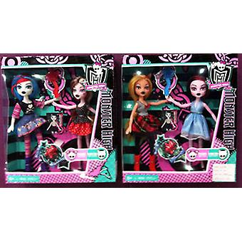 Import Box 2 Monstrous Dolls (Toys , Dolls And Accesories , Dolls , Dolls)